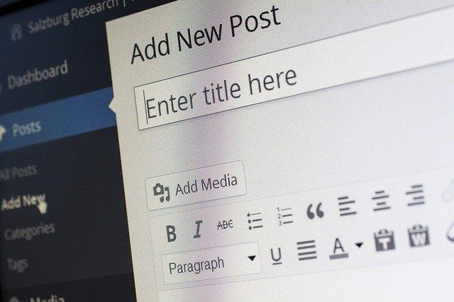 Créer un site web wordpress